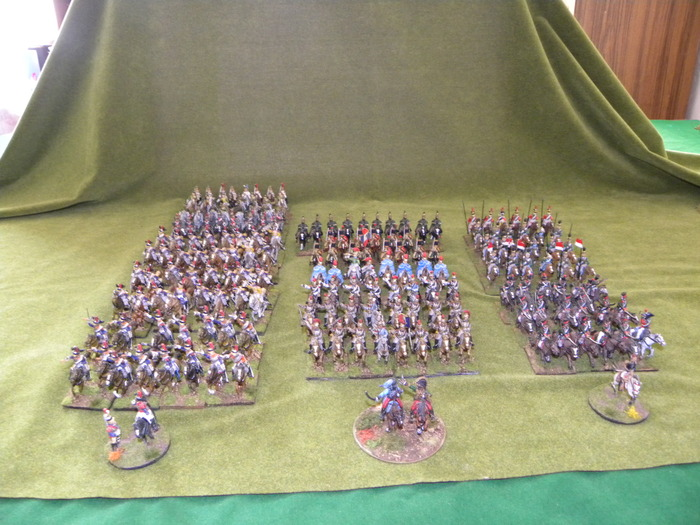 French Cavalry so far...