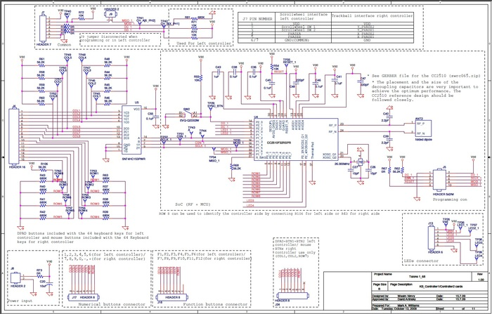 Electronics Schematics