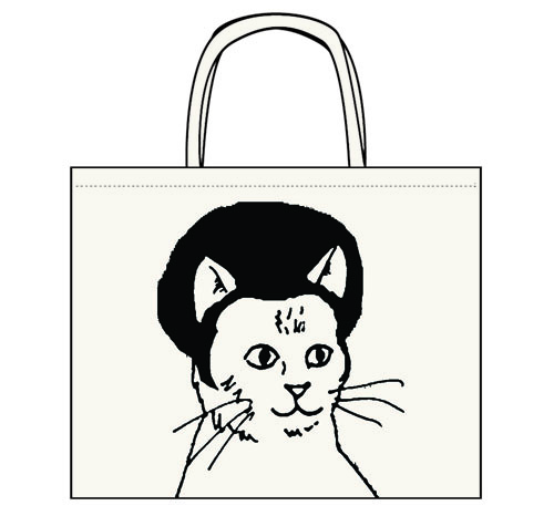 "Pretty Snake ""Afro Kitty"" Tote"