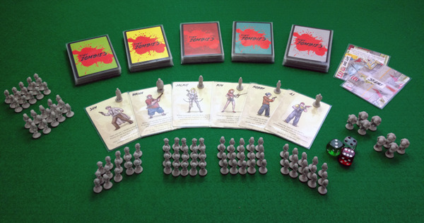 Tiny Zombies prototype for play testing