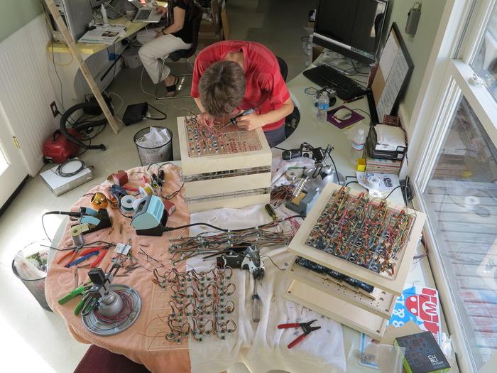 Davis working on simulators