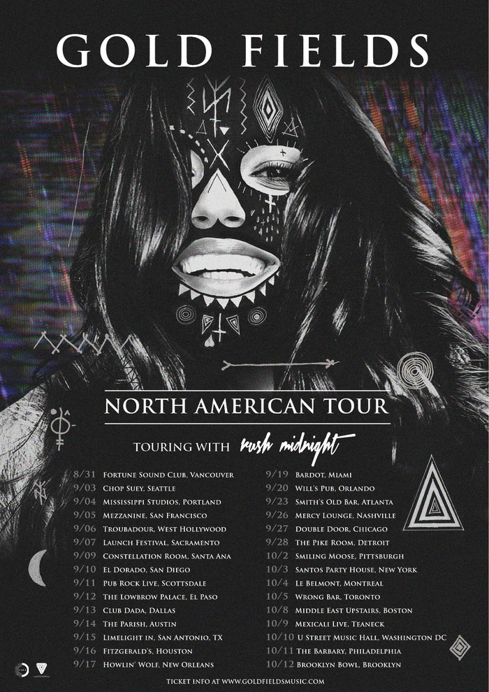 Official Tour poster & dates