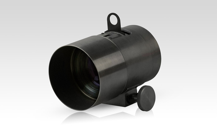 Mock-up of Special Edition Black Petzval Lens (Final color and texture may vary)