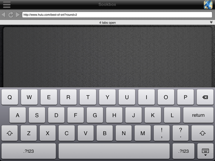 Control the Browser with native keyboard and novel touchscreen
