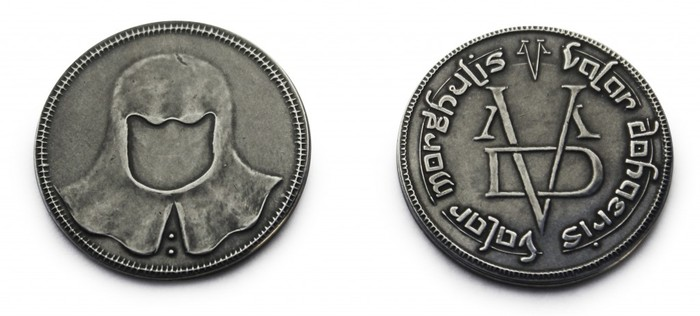 The Iron Coin of the Faceless Man