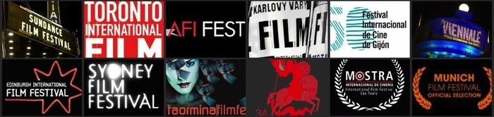 Featured in dozens of international film festivals such as Sundance, Toronto, AFI, Karlovy Vary.