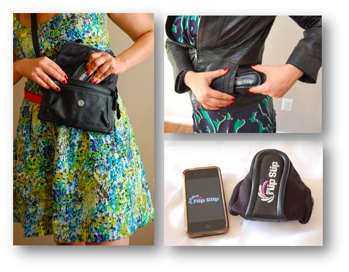In it's self contained state, FlipSlips fold to about the size of an iPhone and can be carried anywhere including a coat pocket or small purse.