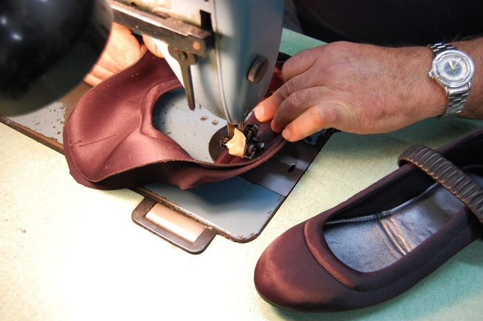 Each Deluxe shoe is hand-crafted by a master cobbler in Los Angeles.