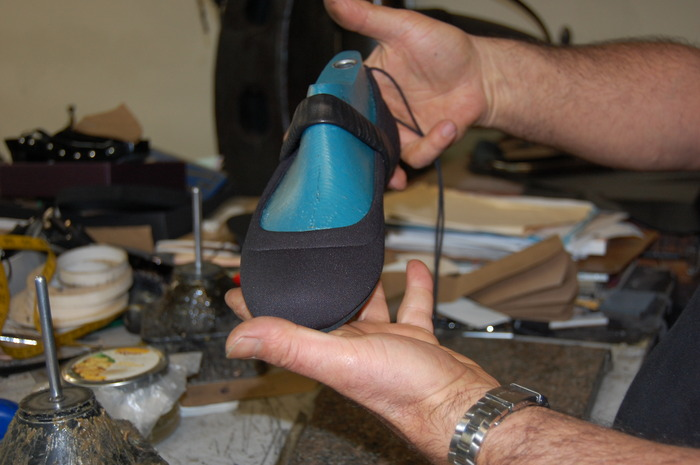 All of our shoes are hand-made and we source all the materials needed to make high-quality original artwork.