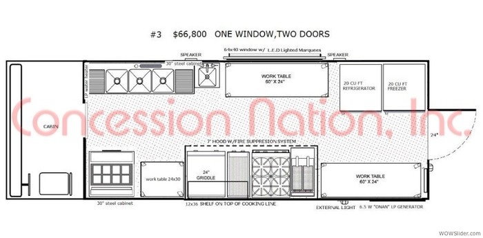 Photos of catering school kitchen layout home design for Food truck design plan