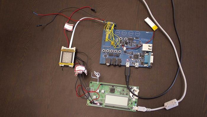 Second big board with companion Bluetooth control board