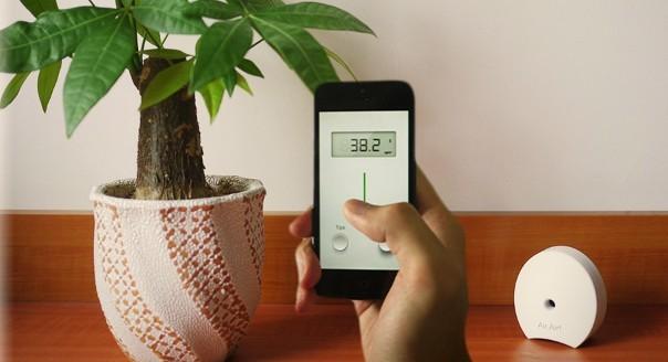 每日good配:Air.Air ——可随身携带的空气质量监测器