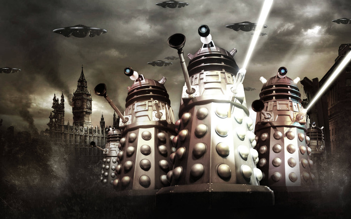 The Daleks have stolen the memory of the Doctor and now he must confront them in order to remember the important message.