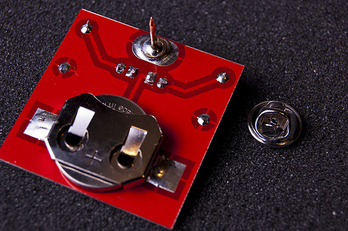 Learn How to Solder this Blinky Pin!