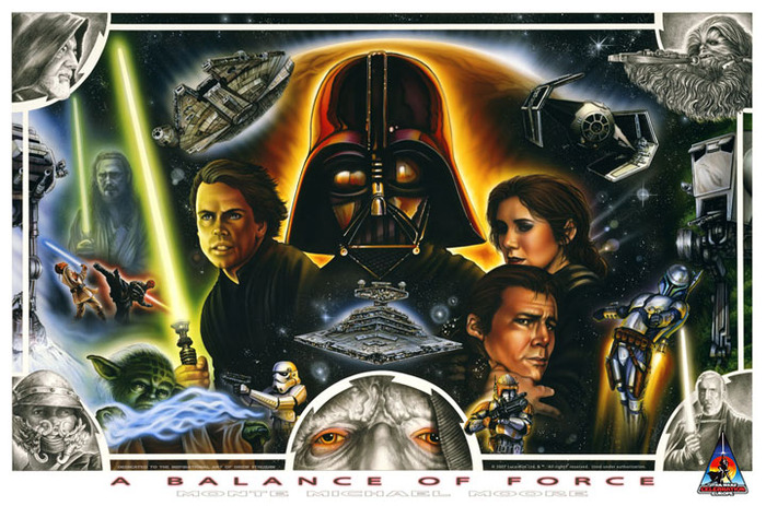A Balance of Force - Officially Licensed Star Wars Limited Edition