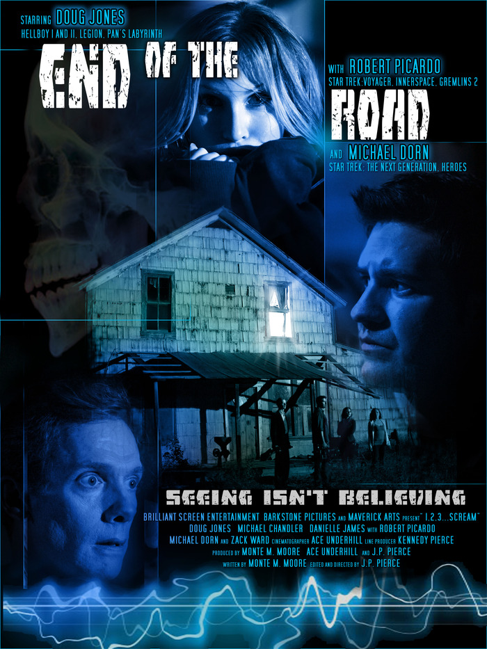 """End of the Road"" DVD (feature film Written and Produced by Monte)"