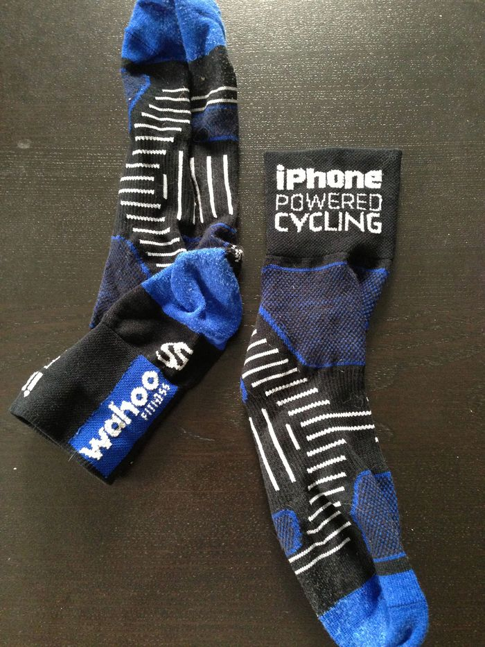 The coolest socks in the peloton!