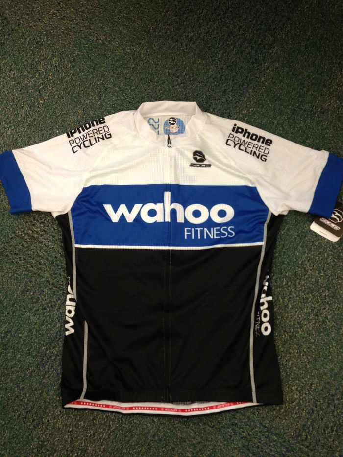 The Wahoo cycling jersey
