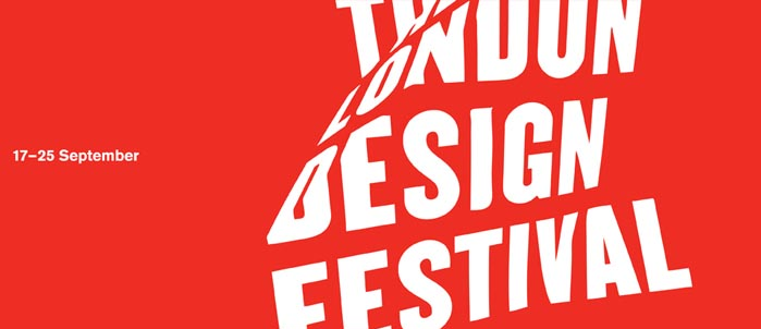 An event will be organized for London Design Festival.