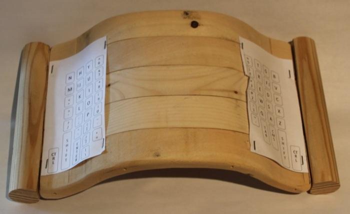 Wooden Model #2 (back)