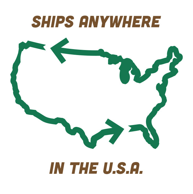 Get stump delivered to your door! Due to wood-shipping regulations, we can only ship to the U.S.A.