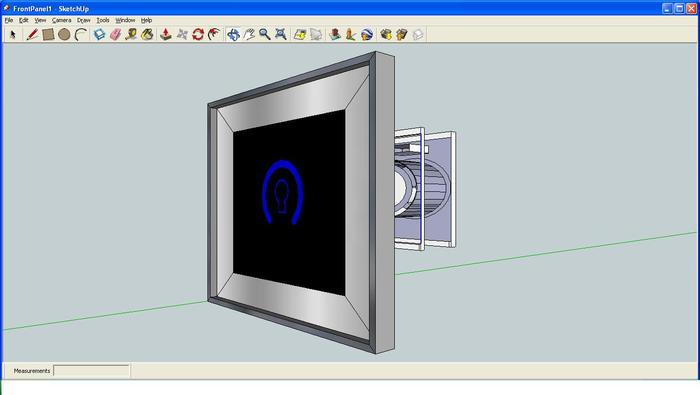 Screen Shot from Google Sketchup