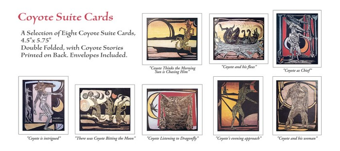 $5 Pledge: Coyote Suite Cards