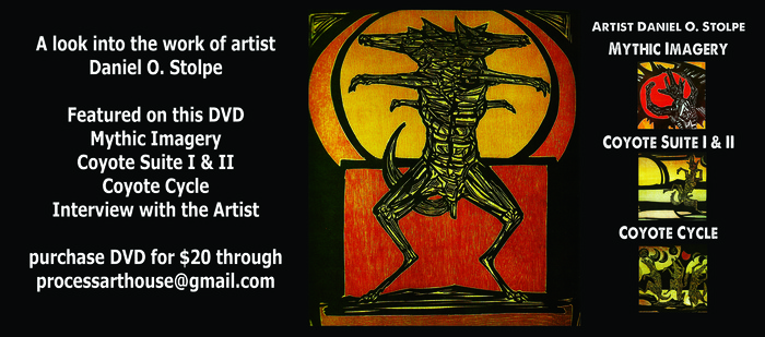 $20 Pledge: Dvd of The Mythic Imagery of Daniel Stolpe