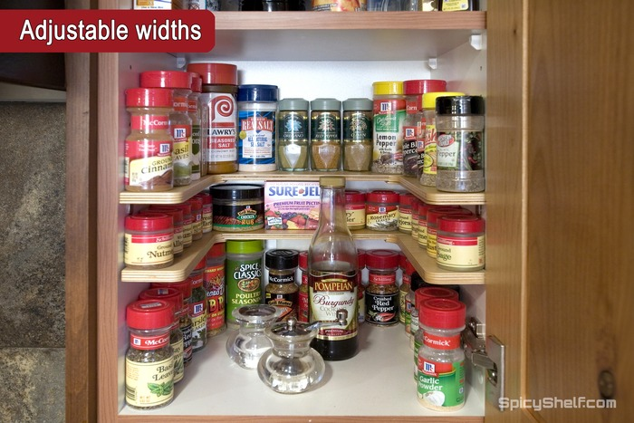 how to organize spices in cupboard | My Web Value