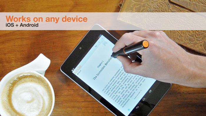 The Nota Stylus Works on All Devices - Android & iOS - Functional Prototype Shown
