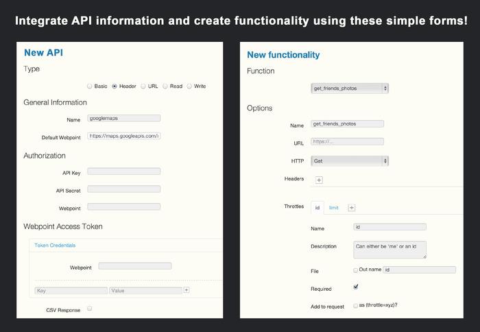 Abacus OS API forms