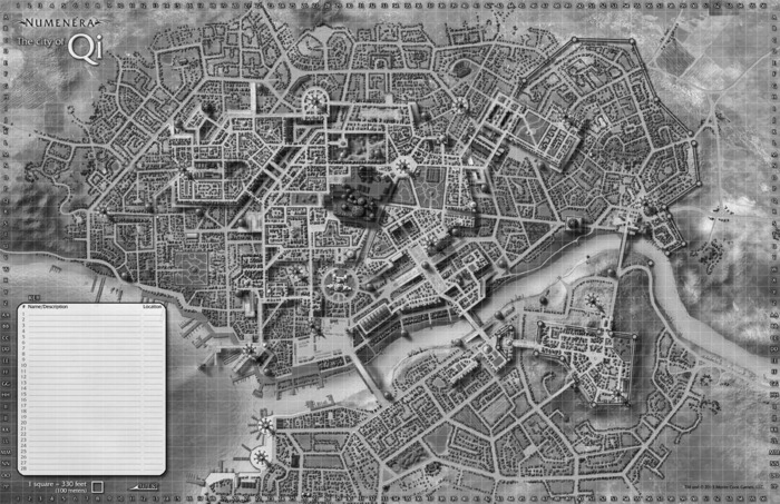City Grid Map