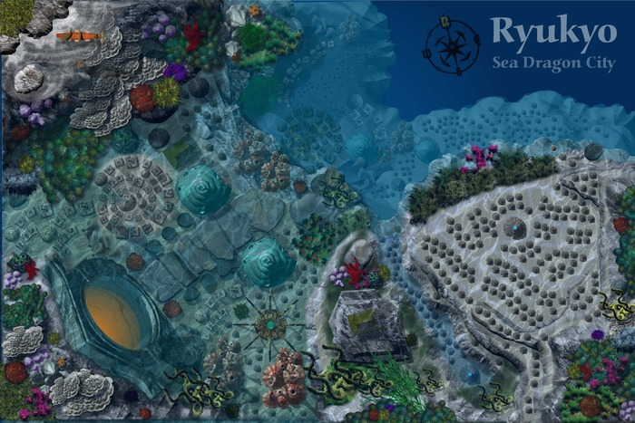 Creating Undersea Maps - an Advanced Tutorial