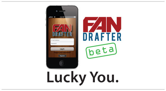 FanDrafter beta test completed over the 2012 NFL season.