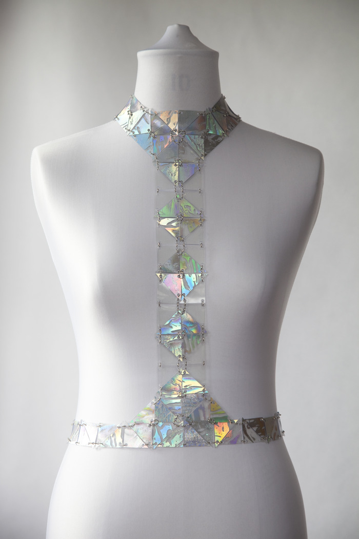 AW13 hologram harness (also available in black and clear) This item is not usually available to buy at the online shop!