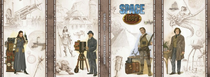 Space: 1889 Gamemaster's Screen