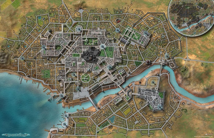 The Unlabeled City Map