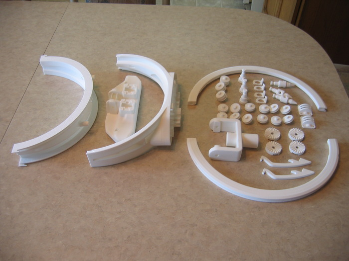"""Selective Laser Sintered - SLS"" Rapid Prototype Parts"