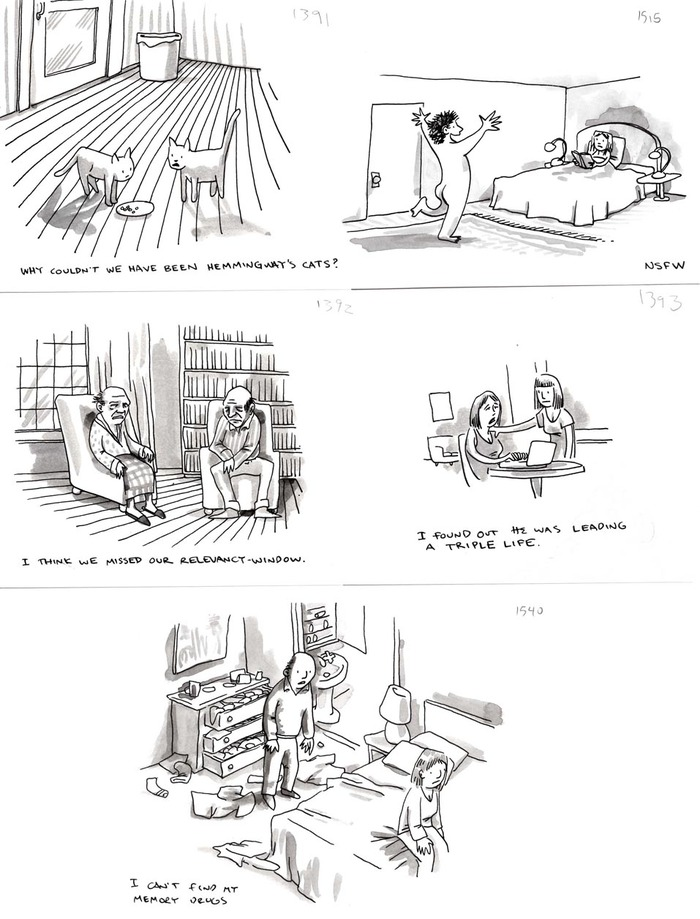 Shannon Wheeler's New Yorker cartoons
