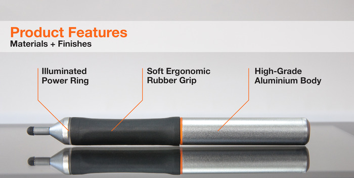 The Nota Ultrafine Stylus - Functional Prototype - FEATURES