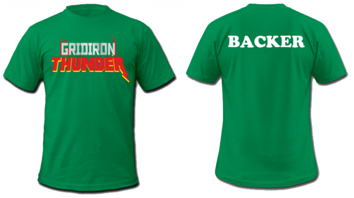 Commemorative Launch T-shirt In Green