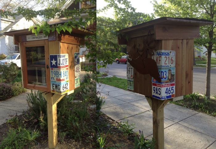 The first Takoma Little Free Library that started it all!