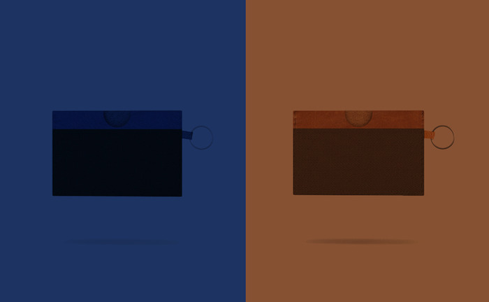 Blue/Black -  Brown/Brown