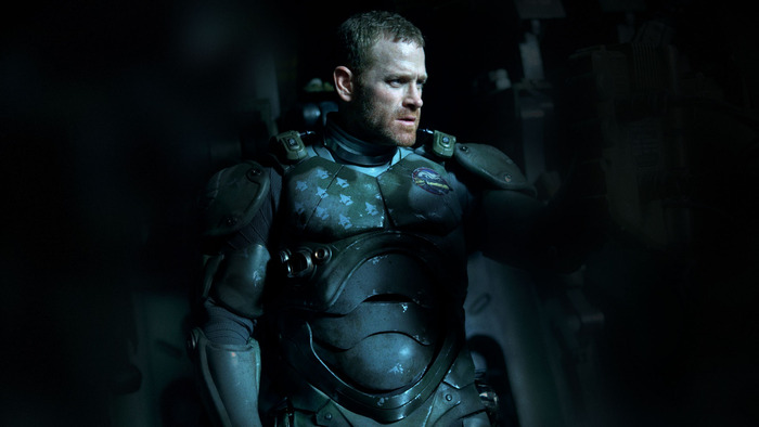 "Max Martini as Herc Hansen in Guillermo del Toro's ""Pacific Rim"""