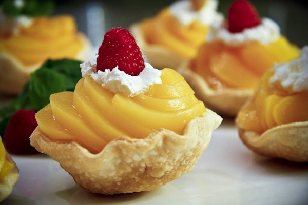 Peaches and Cream Cups