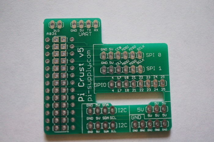 Pi Crust Sample PCB