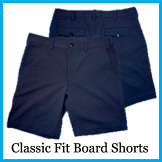 Classic Fit Hybrid Board Short - Color Maltese Blue
