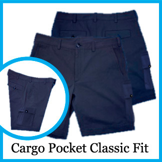 Cargo Pocket Classic Fit - Color Maltese Blue