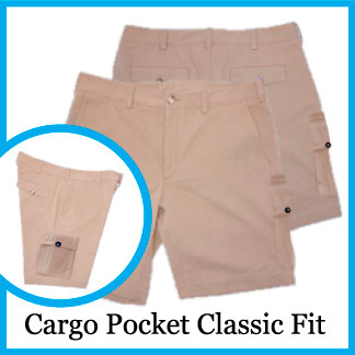 Cargo Pocket Classic Fit - Color Sonora Tan