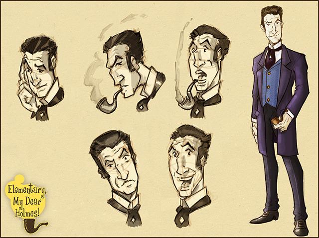 """Sherlock """"I Got This"""" Holmes."""